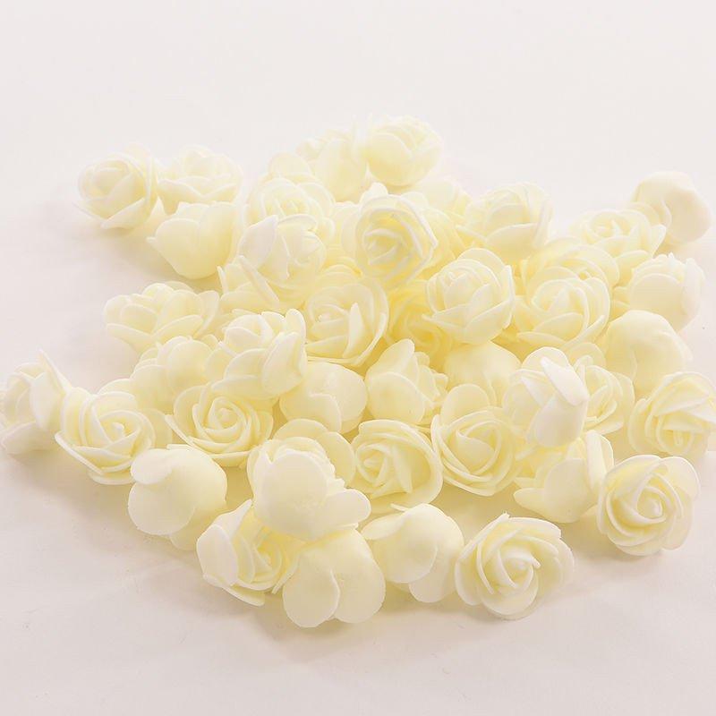 50pcs mini roses artificial silk flower heads diy craft wedding home 50pcs mini roses artificial silk flower heads diy mightylinksfo